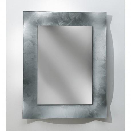 Specchiera in argento spatolato