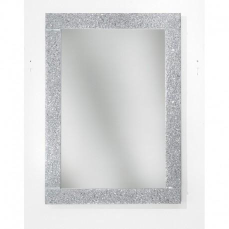 Specchiera  in vetro in argento