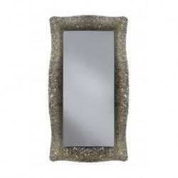 Specchiera in graniglia di vetro
