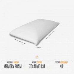 Cuscino cervicale in Memory Foam