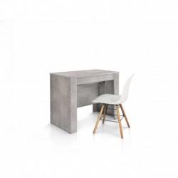 Consolle nobilitato finitura beton - 90x50 4 all. cm.45