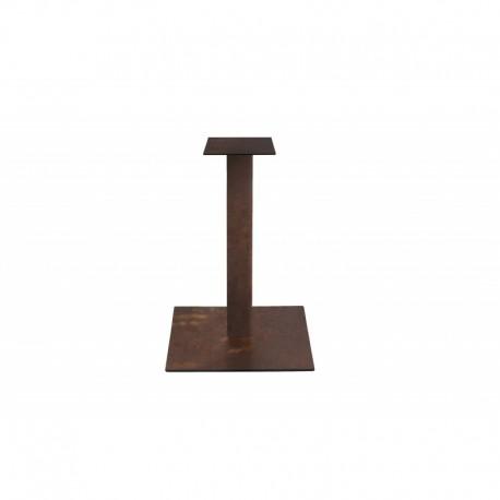 Base bronzo – 50x50 h.72 imballo 4 pezzi