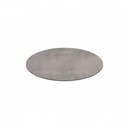 Piano HPL finitura cemento – Ø 80 imballo 2 pezzi