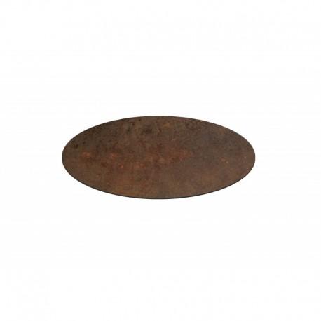 Piano HPL finitura bronzo – Ø 60 imballo 2 pezzi