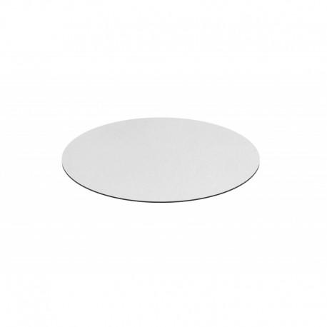 Piano HPL finitura bianco – Ø 70 imballo 2 pezzi
