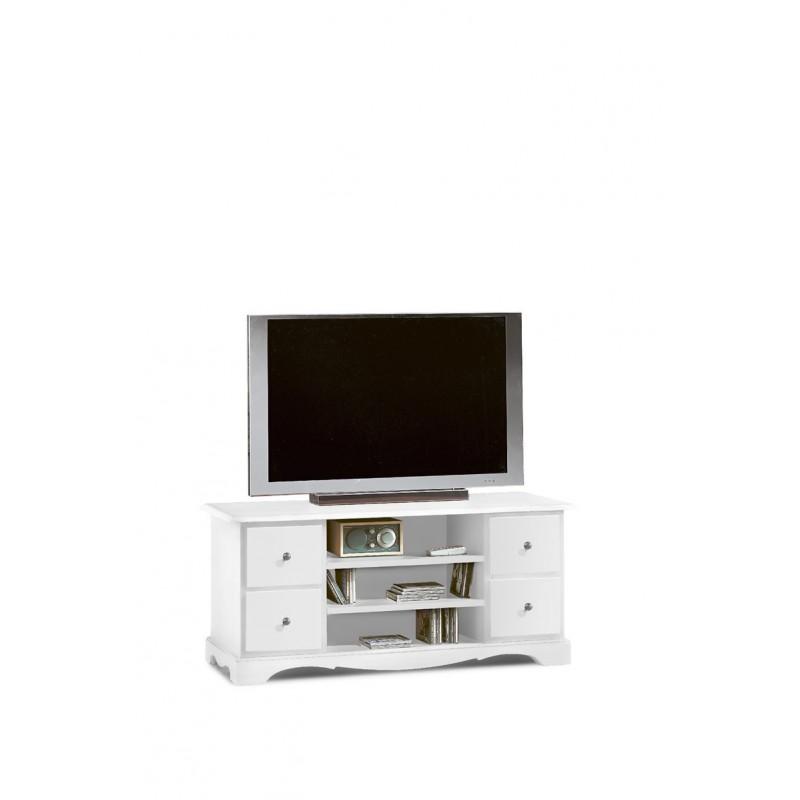 Classico mobile porta tv bianco opaco - Porta tv bianco ...