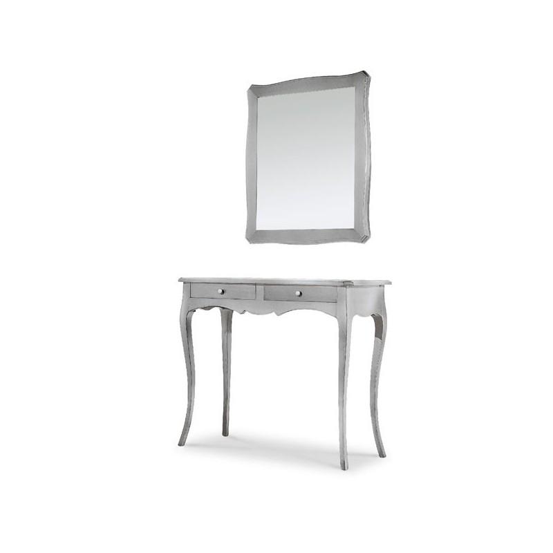 Consolle color argento - Stile Classico
