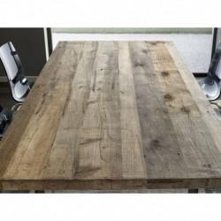 Piano tavolo ontano grigio