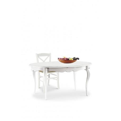 Tavolo ovale bianco opaco for Tavolo ovale bianco design