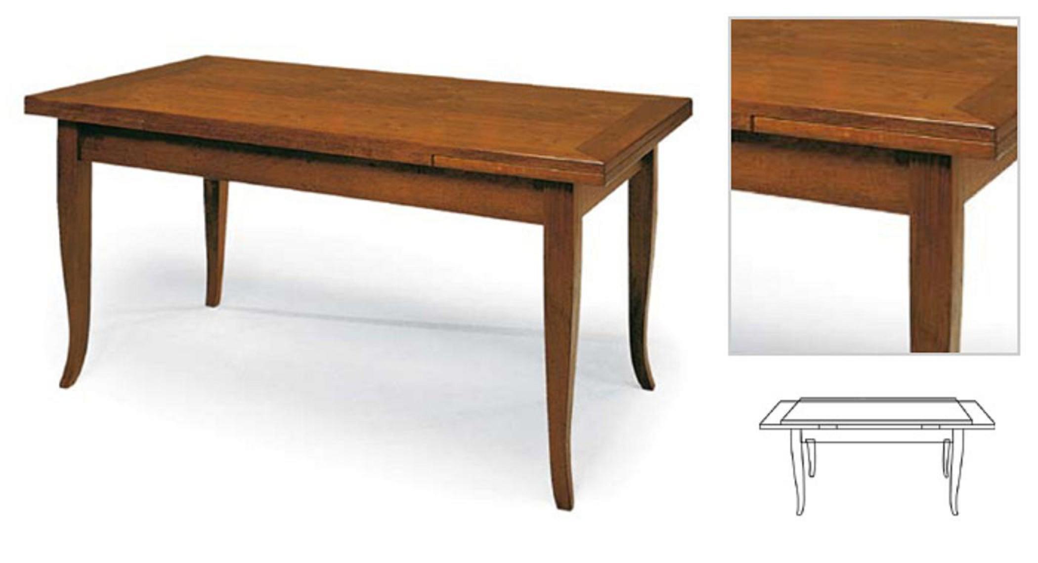 Il classico tavolo in arte povera di una volta una for Tavolo allungabile mondo convenienza