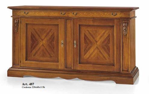 Credenza Arte Povera Foto : Credenza arte povera legno credenze vetrina cristalliera classiche