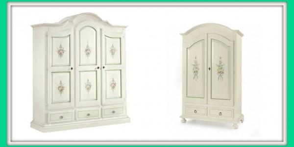 Lo straordinario romanticismo dei mobili decorati in stile for Casa in stile magazzino