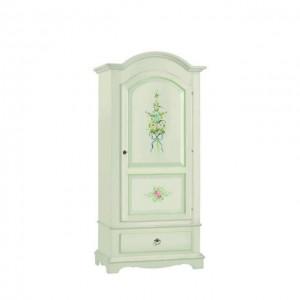 armadio shabby bianco decorato sardegna arte povera classico art 584