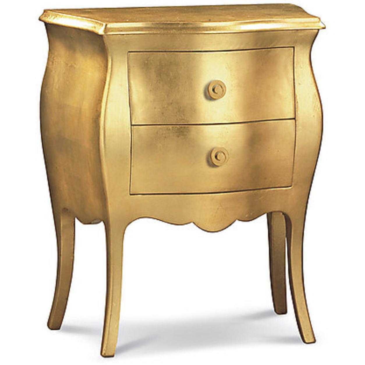 art.1252-oro comodino sardegna arte povera classico - Magazzino ...