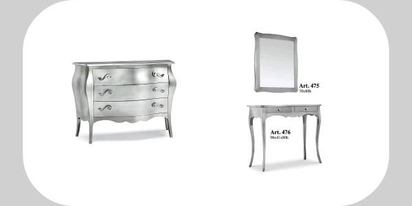 5 mobili in foglia argento per donare luce e ampiezza visiva alla ...