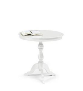 Articolo 1013- tavolino Diam bianco opaco