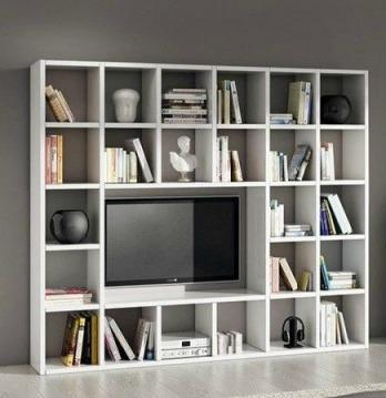 570/L.218 PR.30 H.218 composizione parete bianco frassino magazzinosottocosto prezzo misure