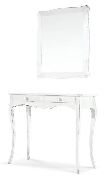 1475 specchiera classica bianca magazzinosottocosto arte povera